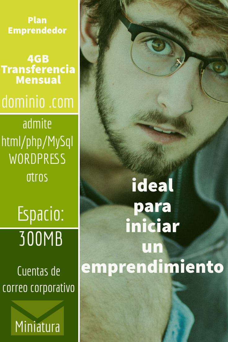 hosting colombia plan emprendedor
