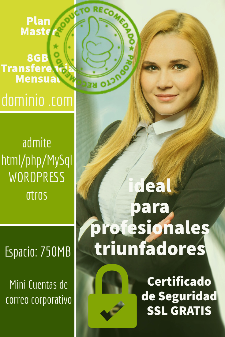 hosting colombia plan master