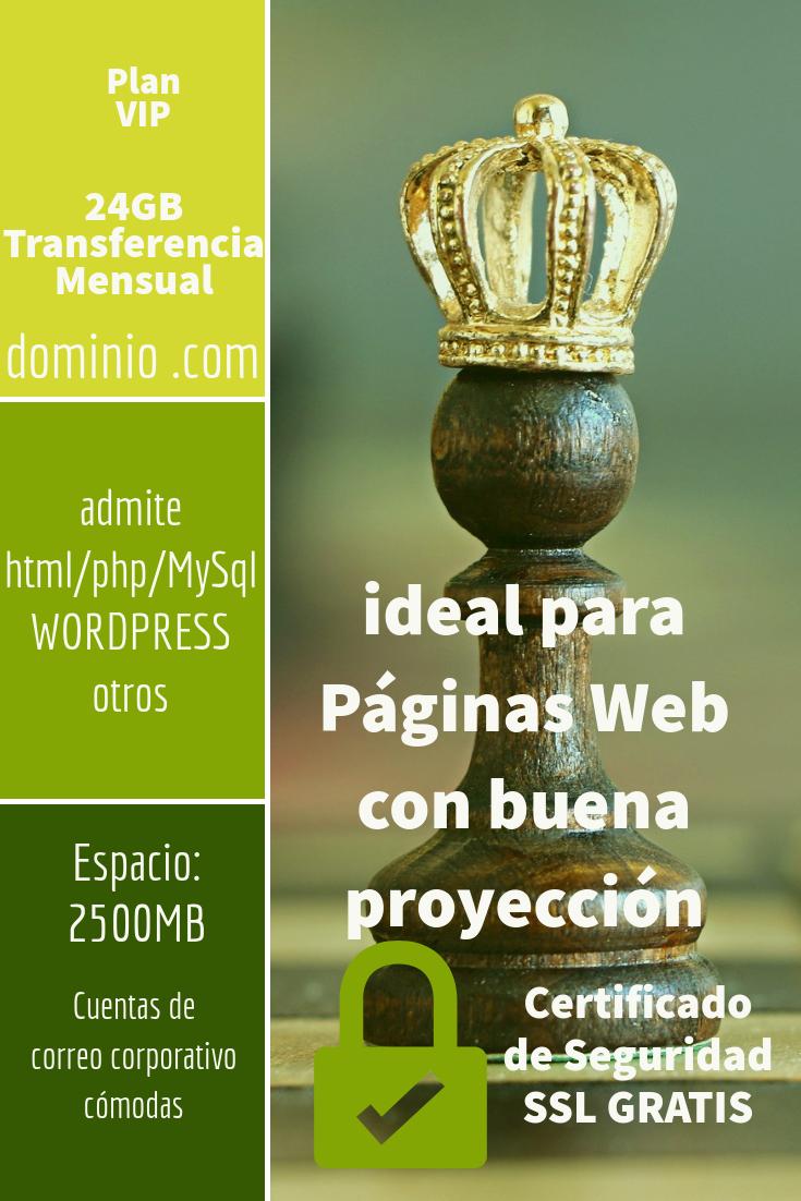 hosting colombia plan VIP